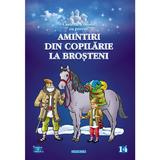 Amintiri din copilarie. la brosteni - carte de colorat cu povesti, editura Eurobookids