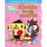 Sa invatam formele geometrice! Coloreaza, joaca-te, invata!, editura Corint