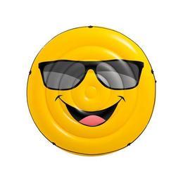 Saltea gonflabila pentru plaja - Smiley Face 173 x 27 cm - Nebunici