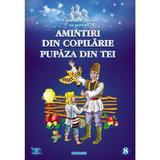Amintiri din copilarie. pupaza din tei - carte de colorat cu povesti, editura Eurobookids