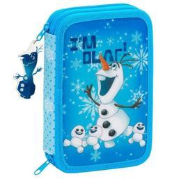 Penar echipat cu 34 piese OLAF bleu 20.5x13.5x4.5 cm - Safta
