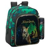 Ghiozdan clasa 0 si penar JUNGLE BOOK 32x38x12