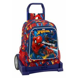 Troler Evolution baieti Spiderman,33x15x43 cm