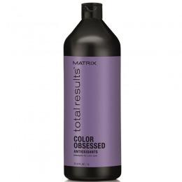 Sampon pentru Par Vopsit - Matrix Total Results Color Obsessed Shampoo 1000 ml