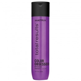 Sampon pentru Par Vopsit - Matrix Total Results Color Obsessed Shampoo 300 ml