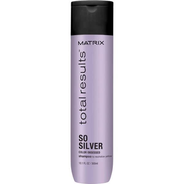 Sampon pentru Par Blond - Matrix Total Results So Silver Color Obsessed Shampoo 300 ml imagine produs