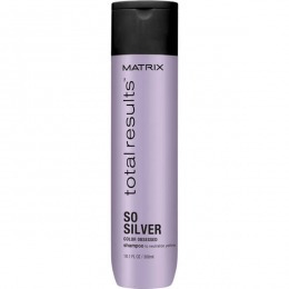 Sampon pentru Par Blond - Matrix Total Results So Silver Color Obsessed Shampoo 300 ml