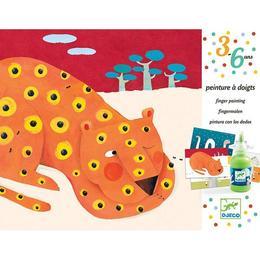 Pictură cu degetele animale - Djeco