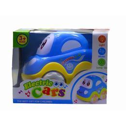 Masinuta interactiva cu sunete si lumini albastra - Disney Toy