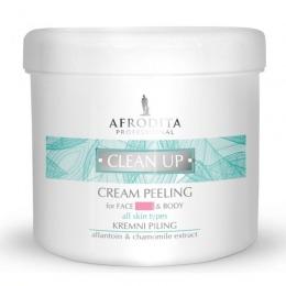 Cosmetica Afrodita - Peeling corporal pentru toate tipurile de piele 450 ml