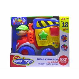 Masinuta de salubrizare cu forme, sunete si lumini - Disney Toy