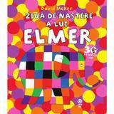 Ziua de nastere a lui Elmer - David McKee, editura Pandora