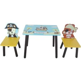 Set masuta si 2 scaunele Pirate Blue