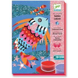 Nisip colorat pești strălucitori - Djeco