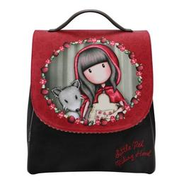 Rucsac cu broderie Gorjuss - Little Red Riding Hood, 31 x 27 x 12cm