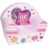 Fotoliu din burete Owl Dreams Light