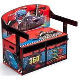 Mobilier 2 in 1 pentru depozitare jucarii Disney Lightning McQueen