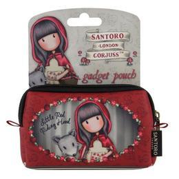 Penar tip pouch gadget Gorjuss Little Red Riding Hood, 12.5 x 8.5 cm