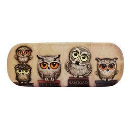 Penar ochelari Etui Book Owls