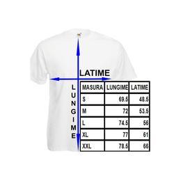 Tricou personalizat Game Over, tricou mesaj petrecerea burlacilor, marime XL