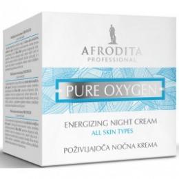 Cosmetica Afrodita - Crema energizanta de noapte PURE OXYGEN 50 ml