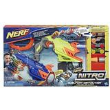 Set lansatoare Nerf Nitro Duel Fury Demolition