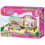 Set de constructie fete Sluban Girl's Dream Restaurant B0530