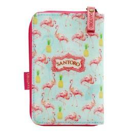 Portofel mic fermoar Flamingo