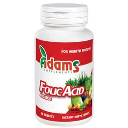 Acid Folic 400mcg Adams Supplements, 30 tablete
