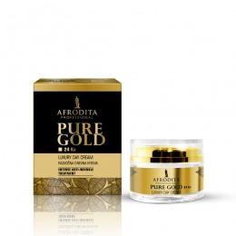 Cosmetica Afrodita - Crema de zi LUXURY cu aur pur 50 ml