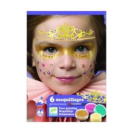 Set make-up, culori non alergice, prințese - Djeco