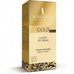 Cosmetica Afrodita - Crema contur ochi LUXURY cu aur pur 15 ml