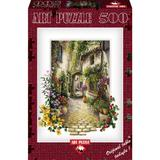 Puzzle In The Small Flower Village, 500 piese