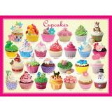 Puzzle 100 piese Cupcakes