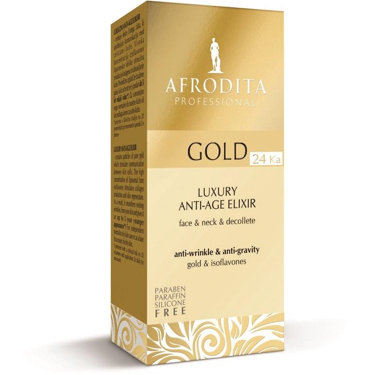 Cosmetica Afrodita - ELIXIR (serum concentrat) anti-age cu aur pur 30 ml imagine produs