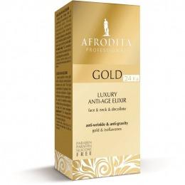Cosmetica Afrodita - ELIXIR (serum concentrat) anti-age cu aur pur 30 ml