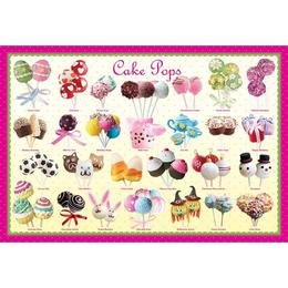 Puzzle 100 piese Cake pops