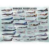 Puzzle 1000 piese Modern Warplanes