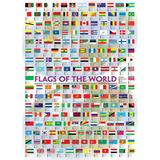 Puzzle 1000 piese Flags of the World