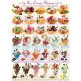 Puzzle 1000 piese Ice Cream Flavours