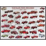 Puzzle 1000 piese - Vintage Fire Engines