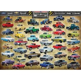 Puzzle 1000 piese Pickup Truck Evolution