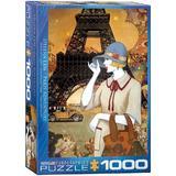Puzzle 1000 piese - Paris Adventure-Helena Lam