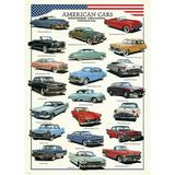 Puzzle 1000 piese American Cars