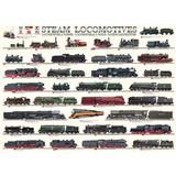 Puzzle 1000 piese Steam Locomotives