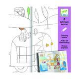 Planșe de desenat ascunselea - Djeco