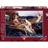 Puzzle 2000 piese - Ulysses And The Sirens-H. JAMES DRAPER