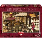 Puzzle Streets Of Paris, 1000 piese