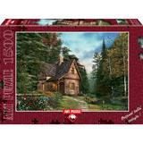 Puzzle Woodland Cottage, 1500 piese