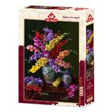 Puzzle Flower And Colors, 1000 piese